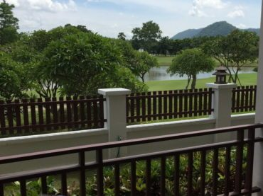 Living on a Golf Course in Thailand