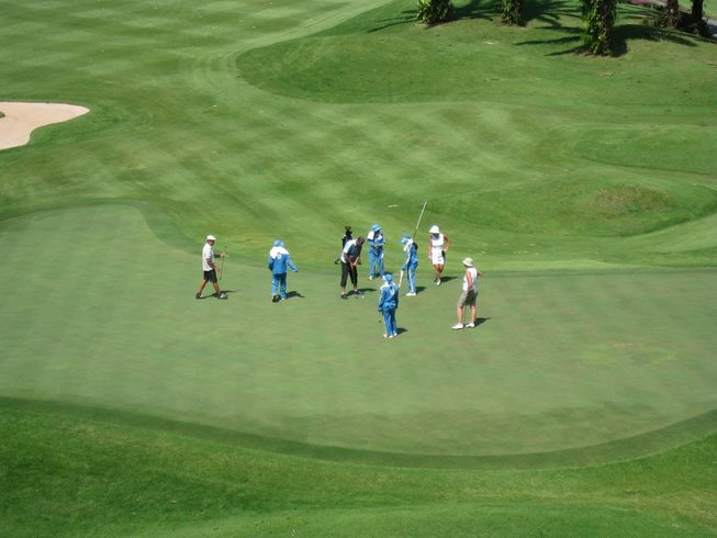 Thailand Golf Putting