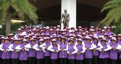 Caddie at Pattaya's Phoenix Gold